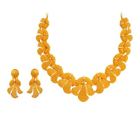 22ct Yellow Gold Traditional Necklace