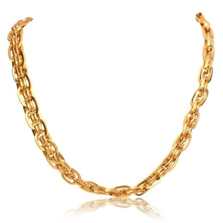 Golden Links Chain For Men