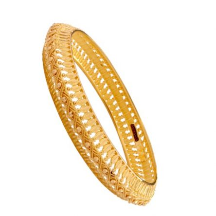 Stylish Traditional 22ct Yellow Gold Bangle